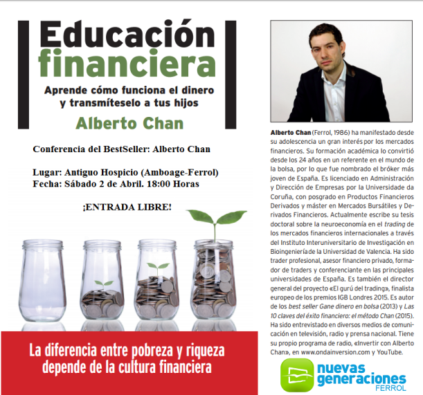 Conferencia Alberto Chan Educacion Financiera